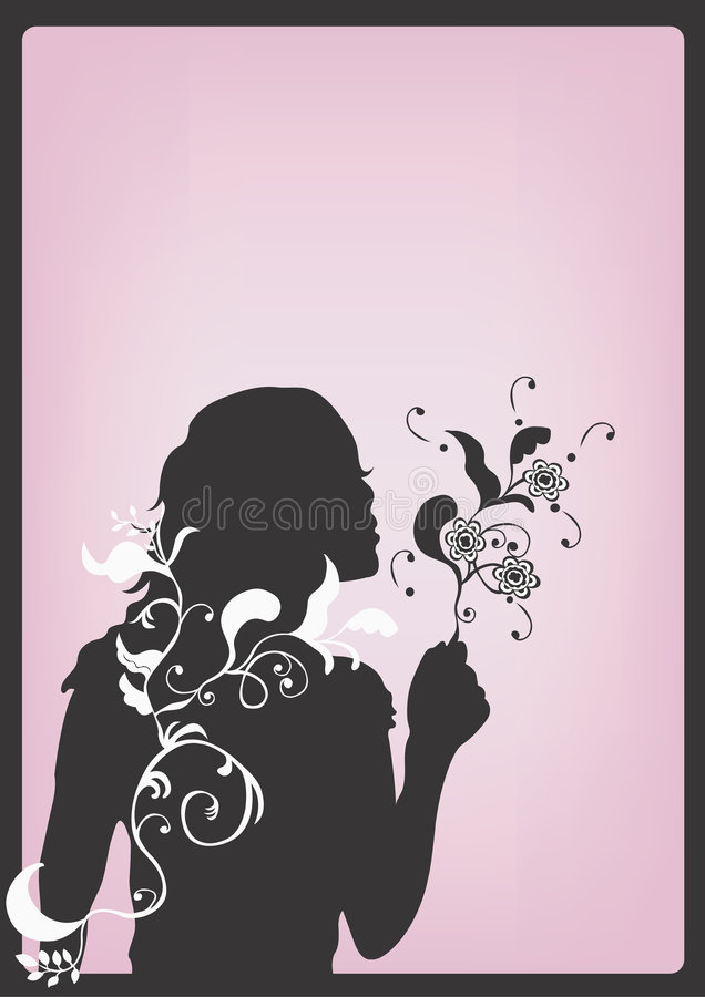 Silhouet stock illustratie