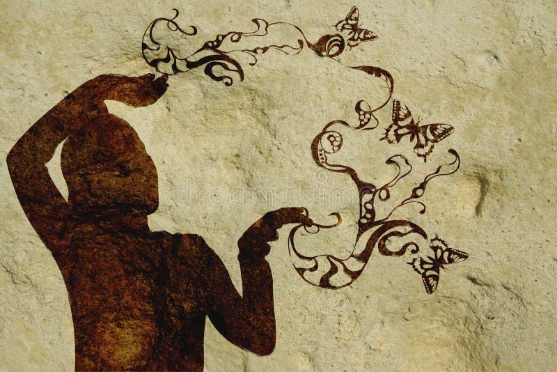 Silhouet vector illustratie