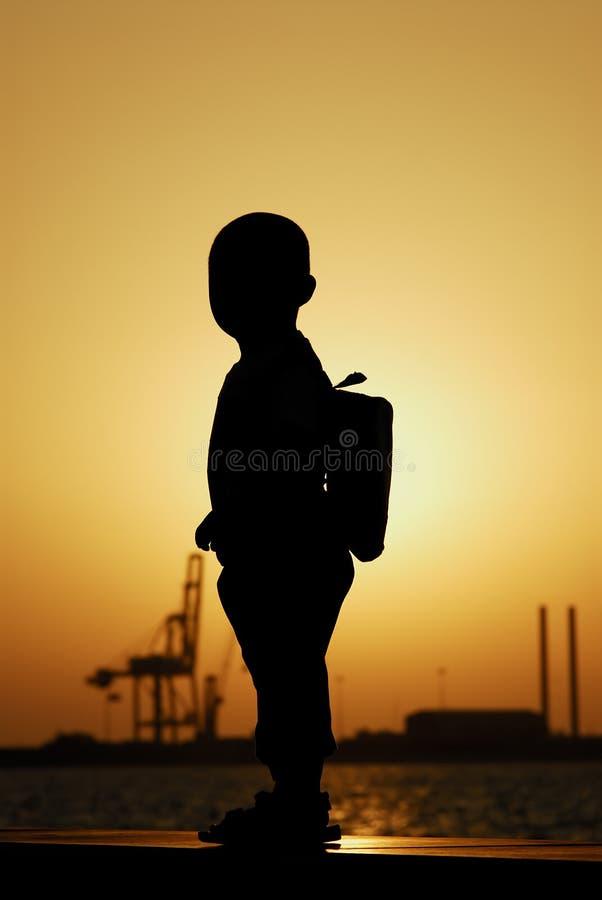 Silhouette photos stock