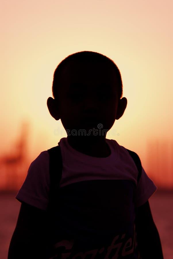 Silhouette image libre de droits
