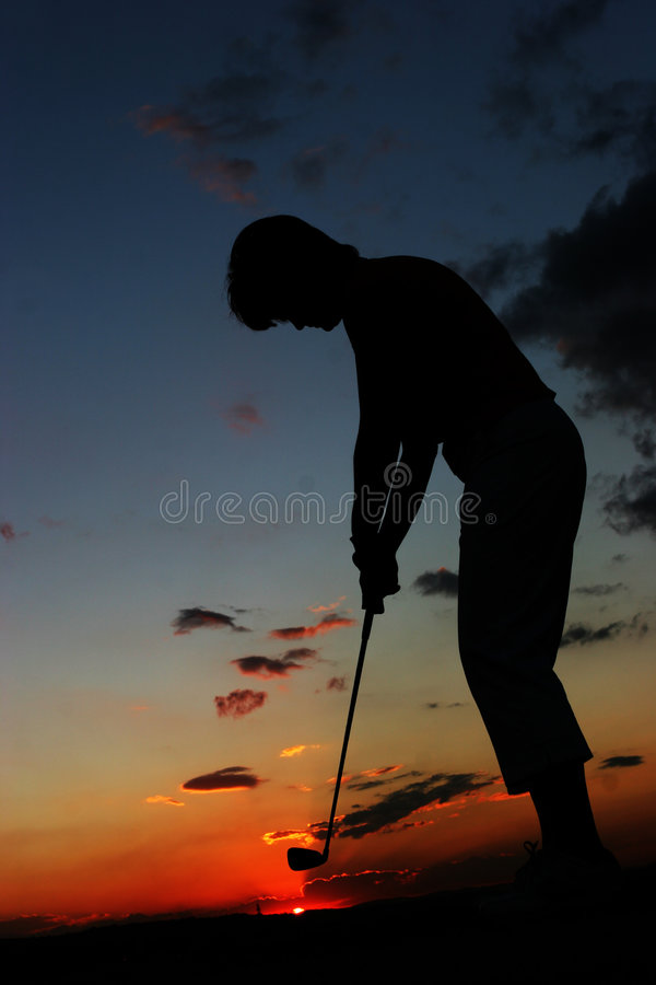 Download Silhouette stock photo. Image of stance, green, glove, playing - 166464