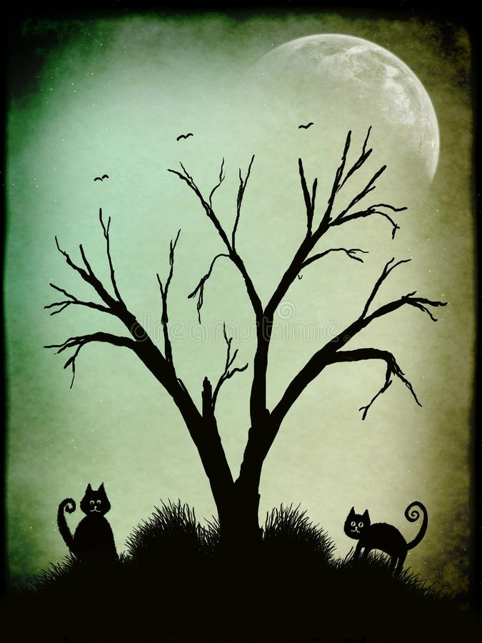 Download Silhouette stock illustration. Image of silhouette, back - 21703657