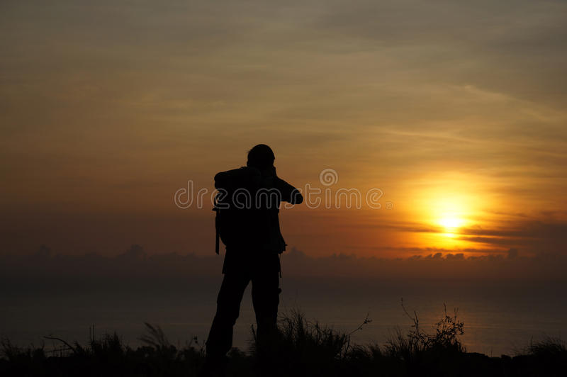 Download Silhouette stock image. Image of color, male, creativity - 23936547