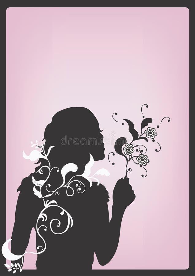 Silhouette stock illustration