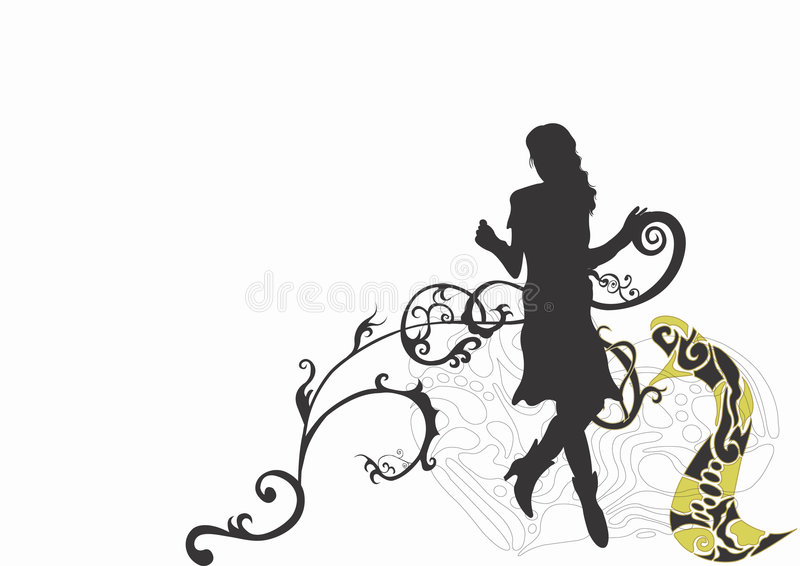 Silhouette vector illustration