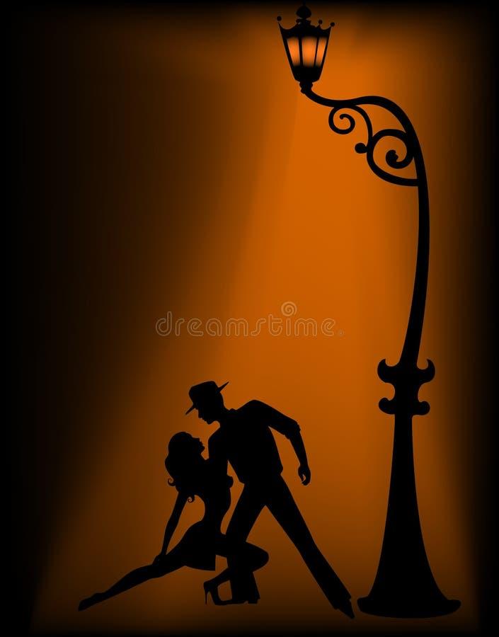 silhouette vektor illustrationer