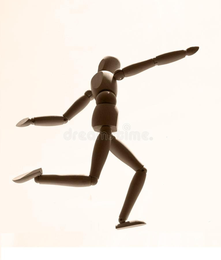 Download Silhouette stock illustration. Illustration of dexterity - 9293885