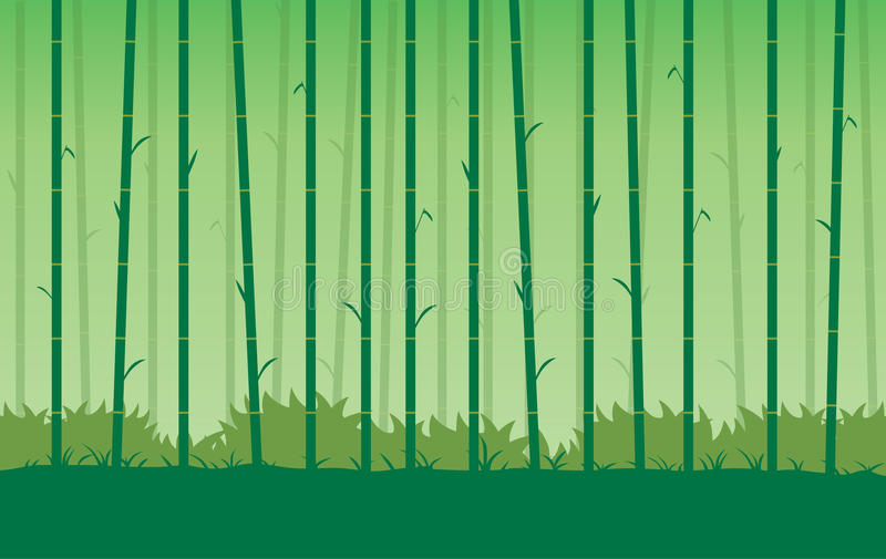 Download Silhouette Bamboo Vector Background. Stock Vector - Illustration of grab, appeal: 83707140