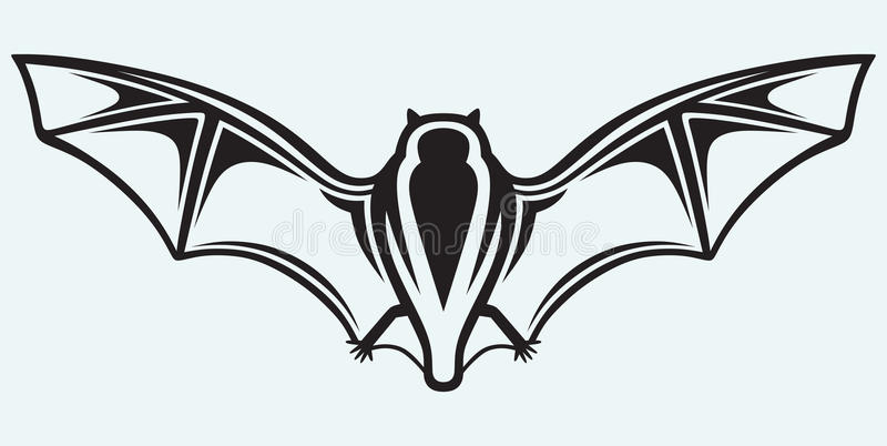 Silhouette Of Bat Stock Images
