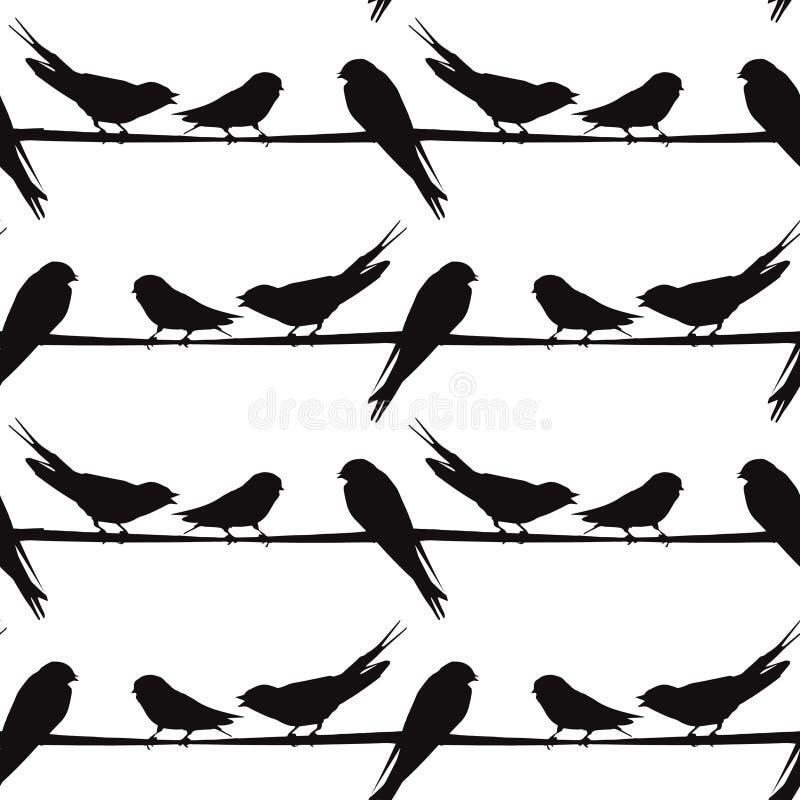 Bird On Wire Silhouette Clip Art