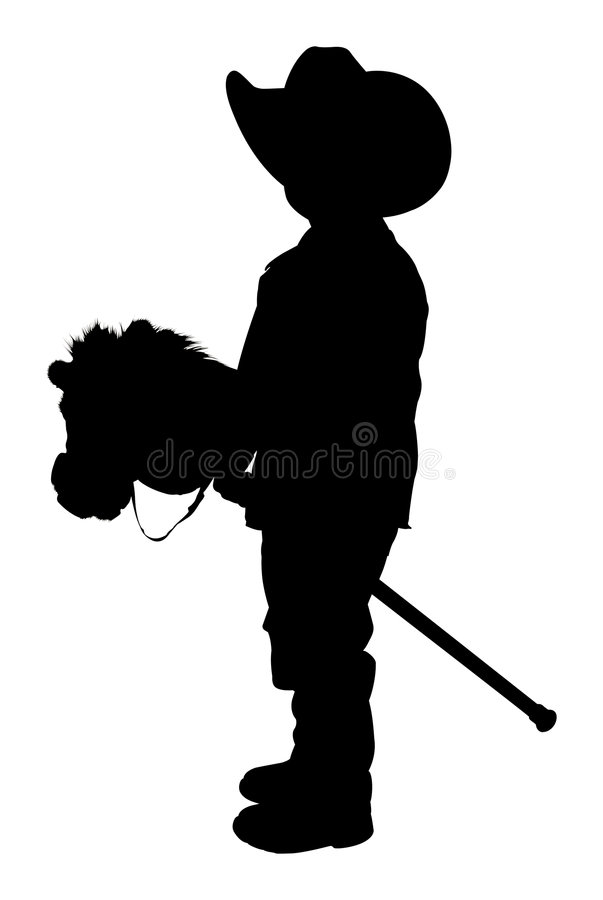 Silhouette With Clipping Path royalty free stock photos
