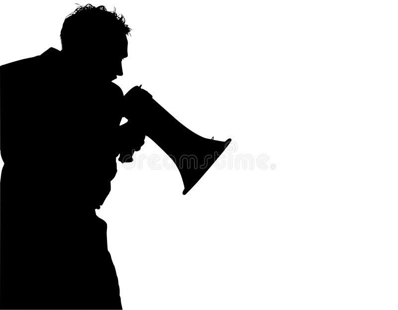 Silhouette With Clipping Path Royalty Free Stock Photo