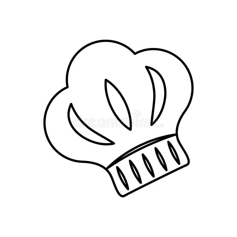 Download Silhouette De Chapeau De Chef Illustration Stock - Illustration du dessin, personne: 87704435