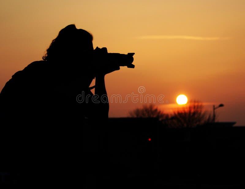 Download Silhouette De Coucher Du Soleil Image stock - Image du nuit, déplacement: 8653015