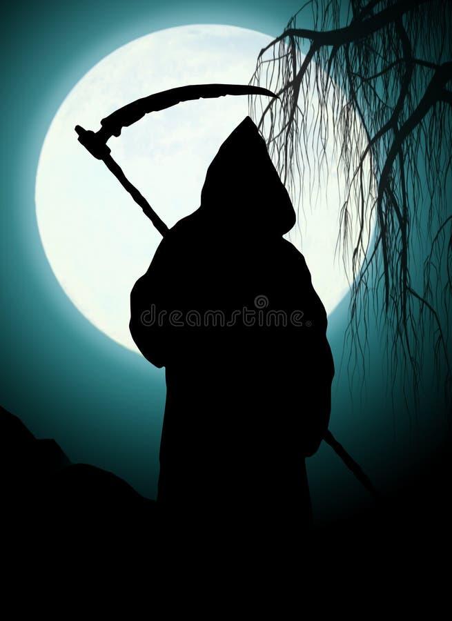 Silhouette de la mort illustration de vecteur