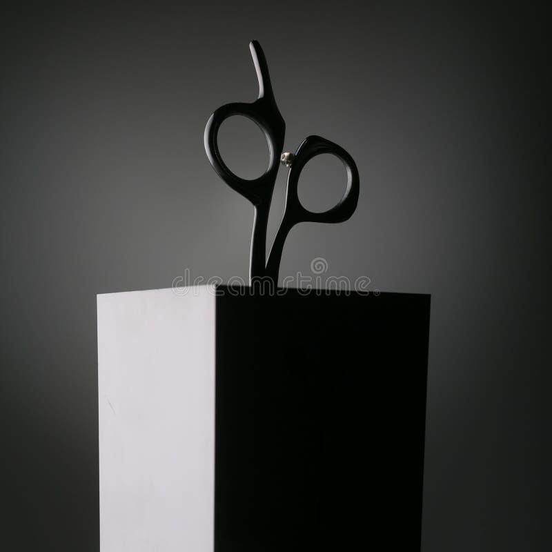 Silhouette des ciseaux photos libres de droits
