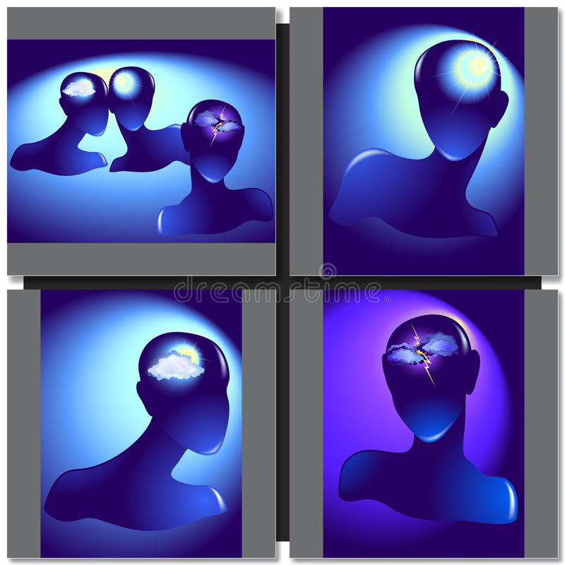 Download Silhouette Of A Female Head Stock Vector   Illustration: 57781214