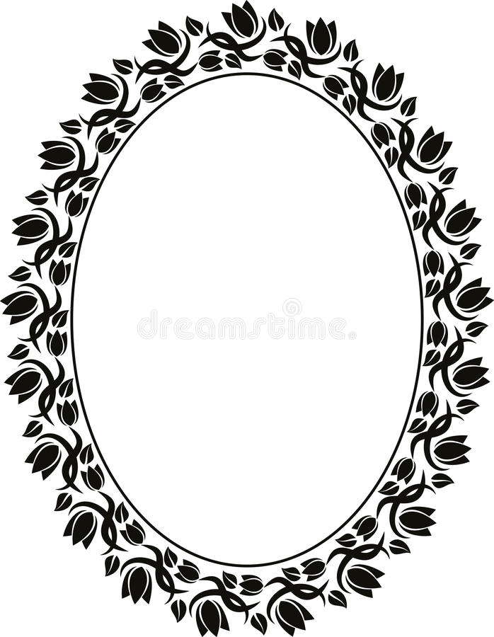 Download Floral frame stock vector. Image of ornate, abstract - 29810323