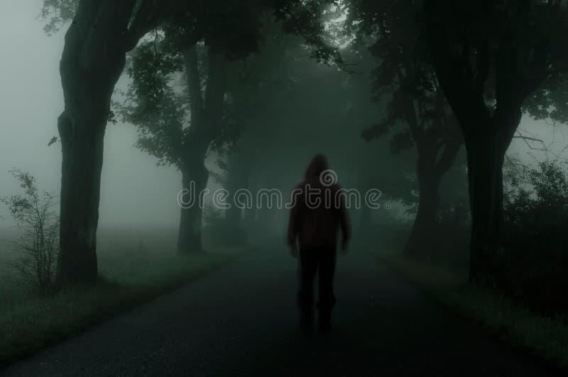Silhouette foncée photographie stock libre de droits