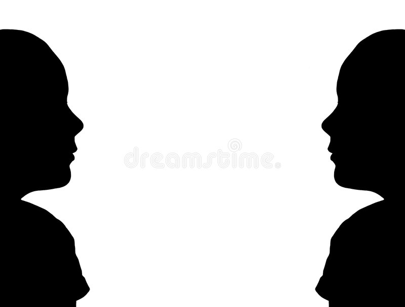Download Silhouette Frame stock illustration. Image of frame, silhouette - 205136
