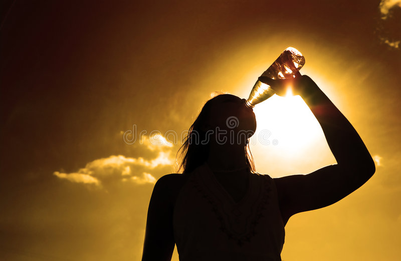 Download Silhouette of girl stock photo. Image of human, background - 7019536