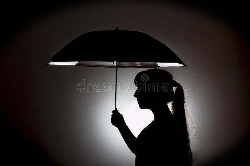 Silhouette royalty free stock images