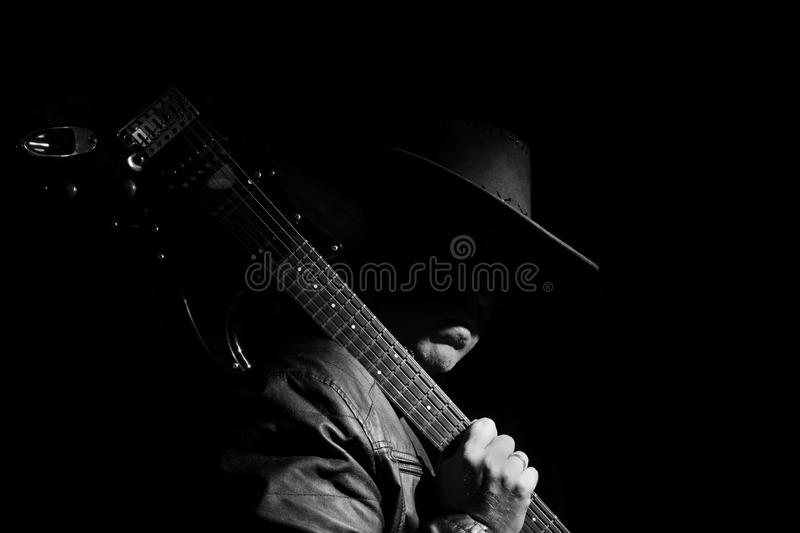 Guitarist royalty free stock images