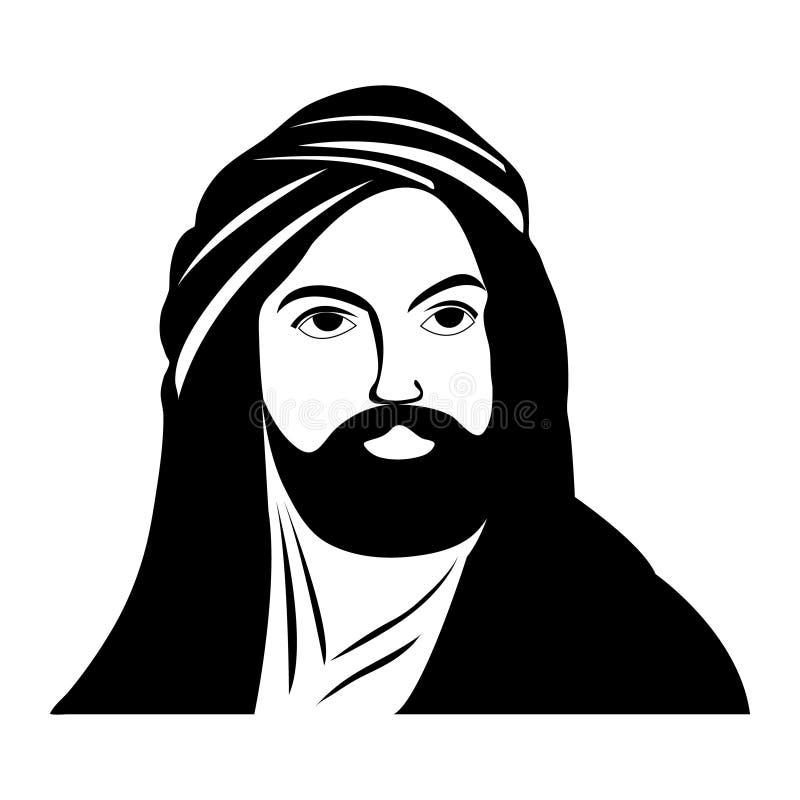 Caliph Face Stock Illustrations – 4 Caliph Face Stock