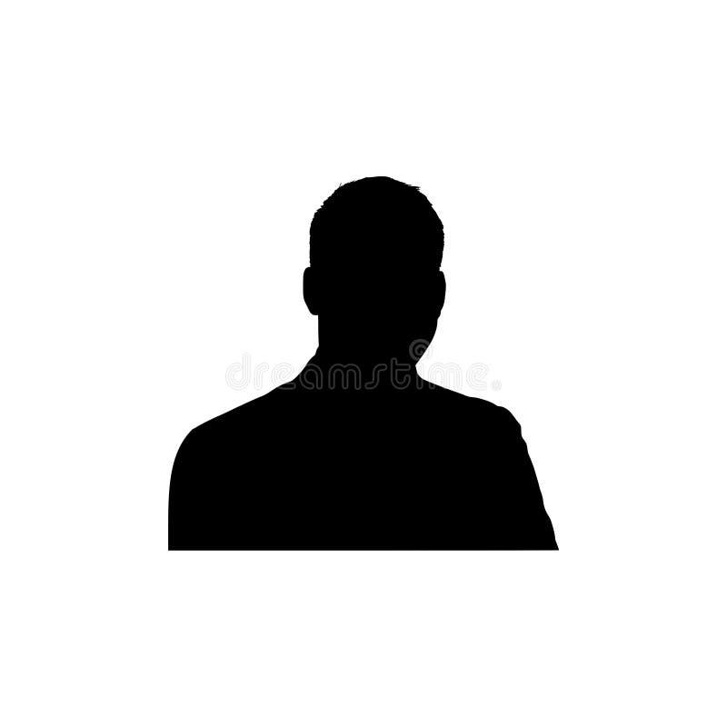 Free Silhouette Man On A White Background Royalty Free Stock Photos - 137188028