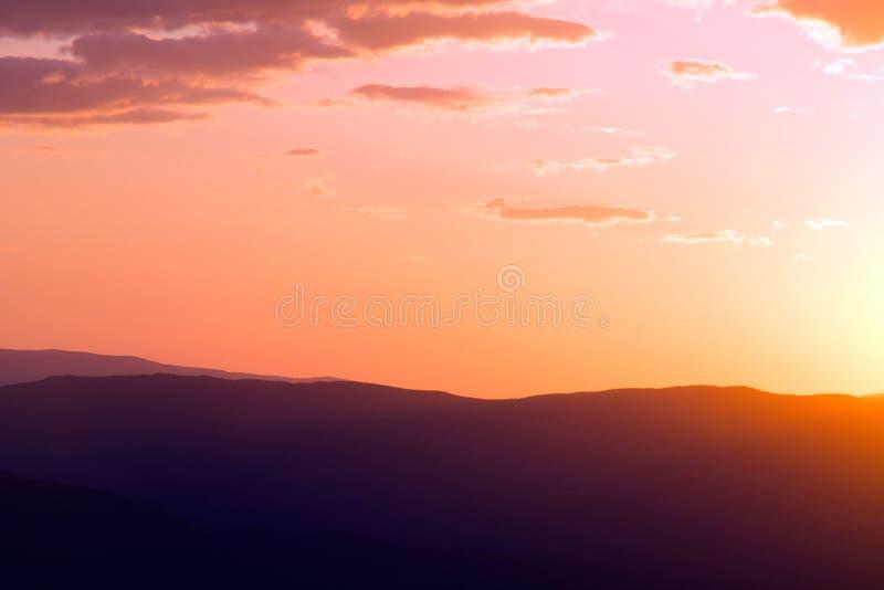 Silhouette Of Mountain During Sunrise Free Public Domain Cc0 Image