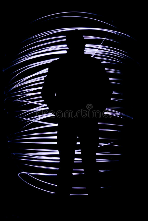 Free Silhouette Of A Man Stock Photo - 21182730