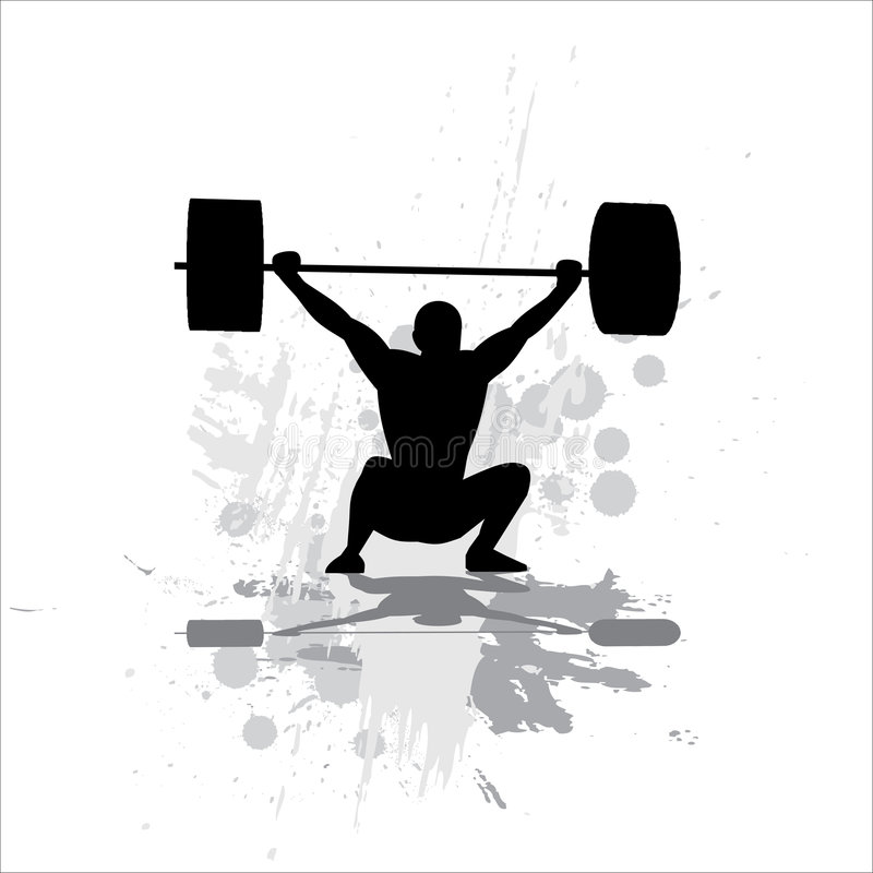Free Silhouette Of The Sportsman Stock Images - 8922114