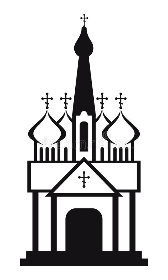 orthodox domes christian church temple stock vector rh dreamstime com russian orthodox clipart clipart orthodox icons