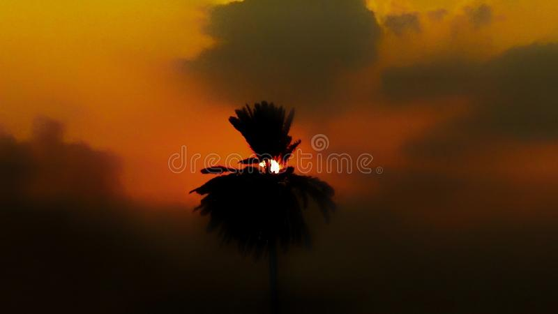 Silhouette Photography of Clouds royalty free stock photo