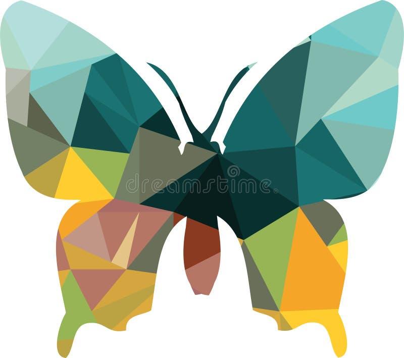 Download Silhouette Polygonale De Triangle De Papillon Illustration de Vecteur - Illustration du éclat, futuriste: 45368311