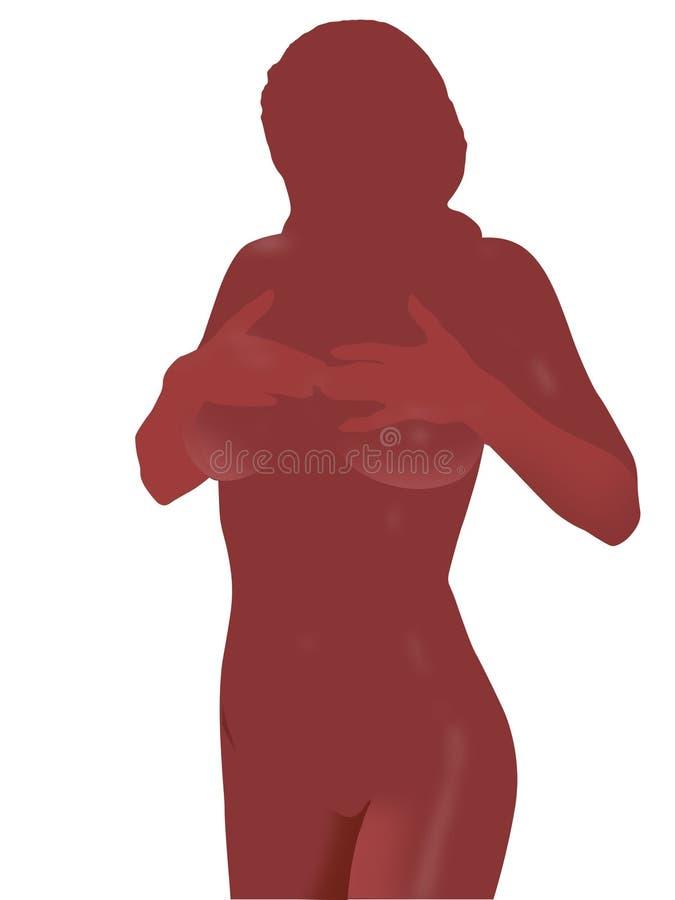 Silhouette Sexy Photos stock