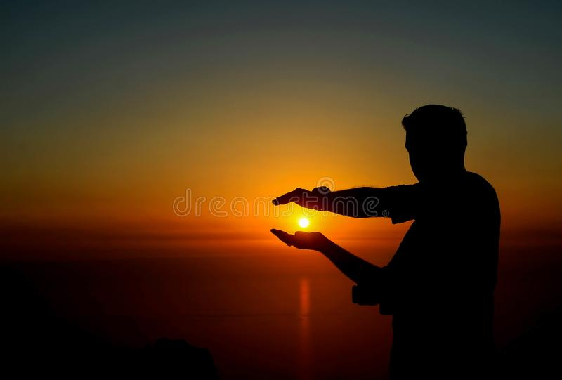 I will hold sun stock photos