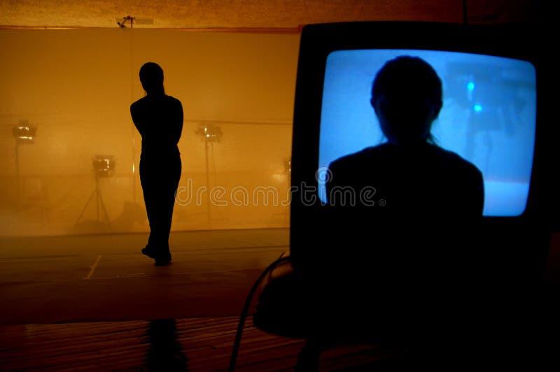 silhouette single στοκ φωτογραφία