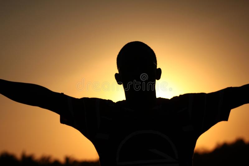 Silhouette, Sky, Sunrise, Backlighting Free Public Domain Cc0 Image