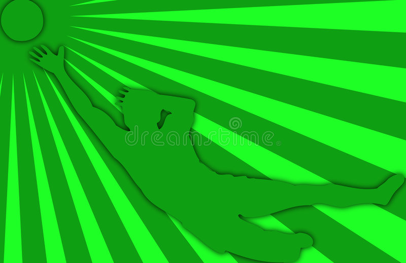 Download Silhouette Of Soccer Player Stock Illustration - Illustration of match, shooting: 6243217