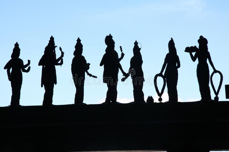 Silhouette, Statue, Monument, Shadow royalty free stock images