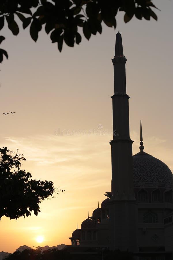 Mosque Putrajaya royalty free stock photography