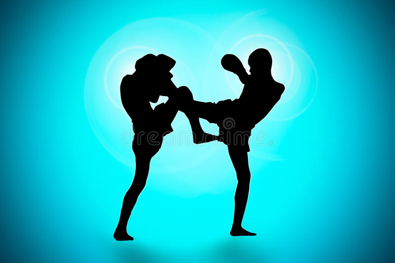 Download Thai Boxing stock image. Image of people, glove, practice - 29972685