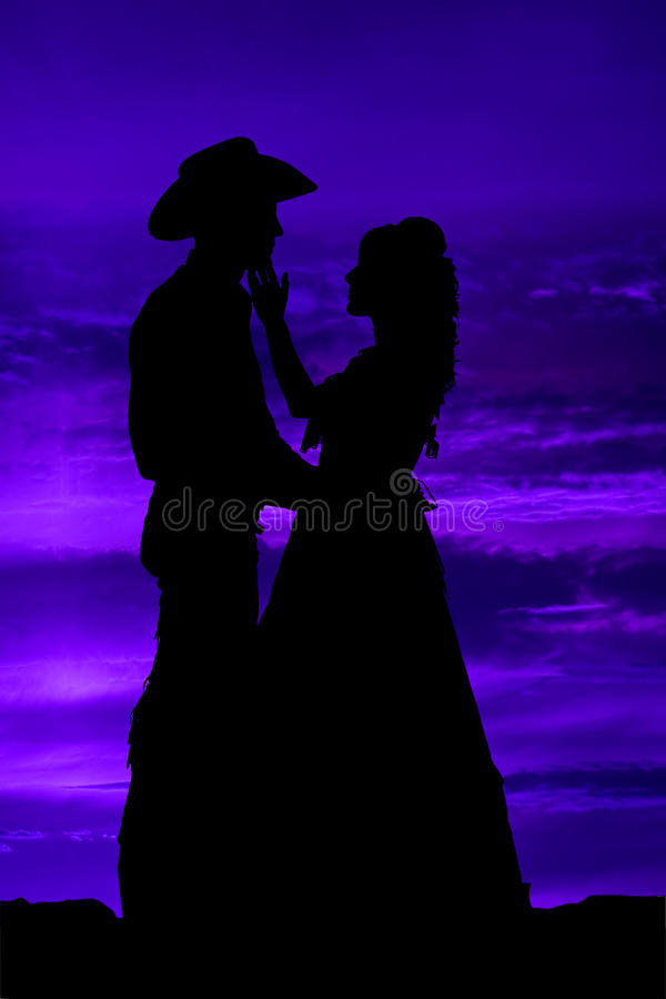 Download Silhouette Touching Wiskers Stock Illustration - Image: 13380156