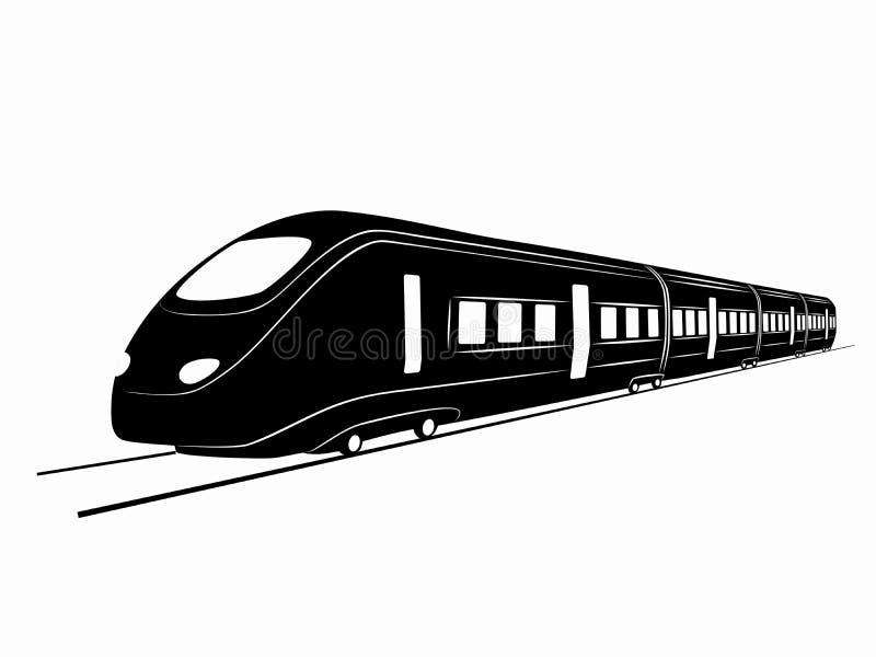 silhouette of train vector drawing stock vector illustration of rh dreamstime com train victoria to brighton train victoria to gatwick airport