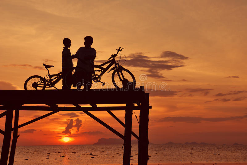 Download Silhouette View Activity Stock Images - Image: 18846884