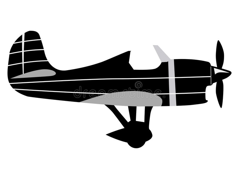 Vintage Airplane Silhouette Stock Illustrations 2 966 Vintage