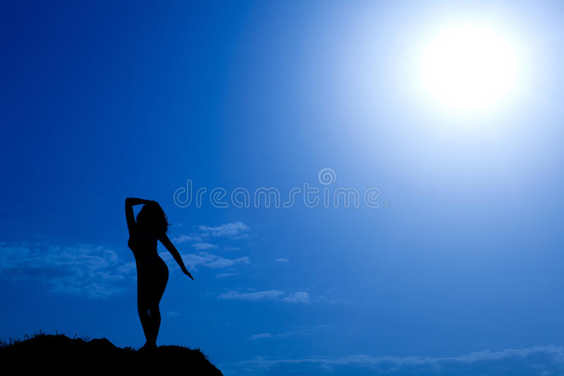 Download Silhouette Of Woman Stock Photography - Image: 19994202