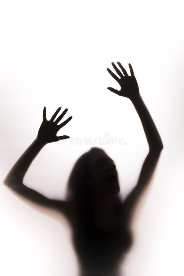 001 silhouette woman стоковое фото rf
