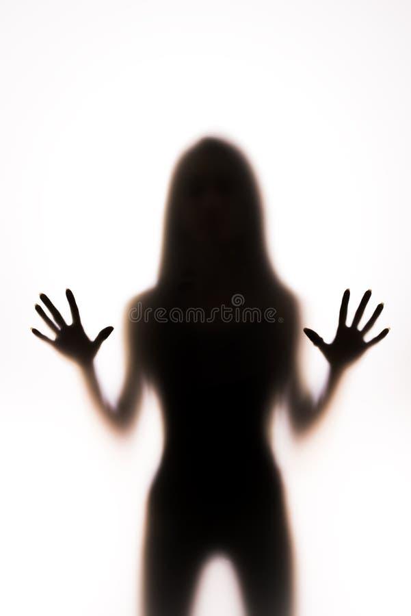 001 silhouette woman стоковое изображение rf